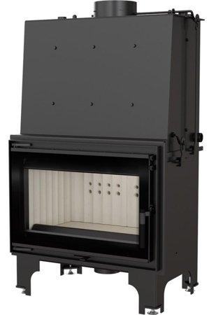 DOSTAWA GRATIS! 30065526 Wkład kominkowy 16kW AQUARIO O16 PW GLASS z płaszczem wodnym, wężownicą (szyba prosta) - spełnia anty-smogowy EkoProjekt