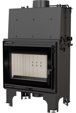 DOSTAWA GRATIS! 30065528 Wkład kominkowy 8kW AQUARIO M8 PW GLASS z płaszczem wodnym, wężownicą (szyba prosta) - spełnia anty-smogowy EkoProjekt