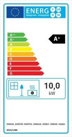 KONS Wkład kominkowy 10kW Lucky Slim (szyba prosta) - spełnia anty-smogowy EkoProjekt 30063869