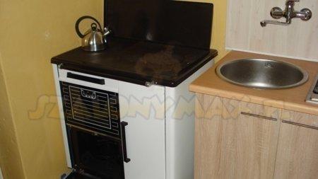 Kuchnia, angielka 9,2kW Jawor z wężownicą + druga wężownica gratis (kolor: biały) 25977150