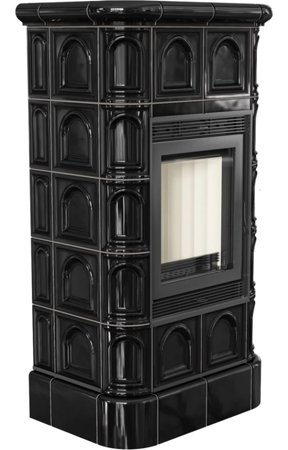 Piec wolnostojący 8kW Blanka (kolor: kafel czarny) - spełnia anty-smogowy EkoProjekt 30065515