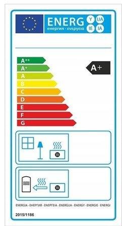 Piec wolnostojący 8kW (kolor: brązowy) - spełnia anty-smogowy EkoProjekt 99672984