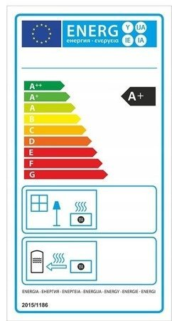 Piec wolnostojący 8kW (kolor: pistacjowy) - spełnia anty-smogowy EkoProjekt 99672982