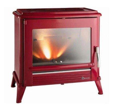 Piec wolnostojący Invicta 10kW Modena (kolor: emalia czerwona) - spełnia anty-smogowy EkoProjekt 86876393