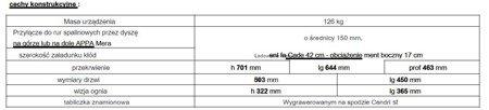 Piec wolnostojący Invicta 10kW Sedan M (kolor: emalia czerwona) - spełnia anty-smogowy EkoProjekt 86829182
