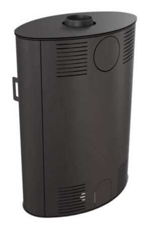 Piec wolnostojący koza 10kW AB S 2 z wylotem spalin fi 150 - spełnia anty-smogowy EkoProjekt 30055019