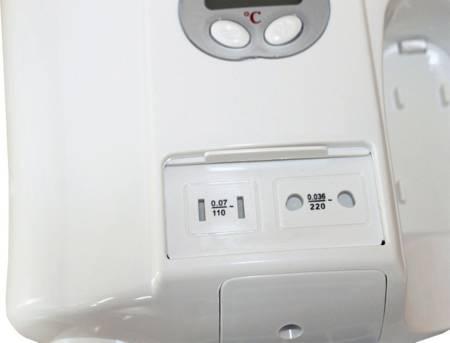 SZANI Profesjonalna suszarka do włosów basenowa, hotelowa ze sterowaniem LCD 44378402