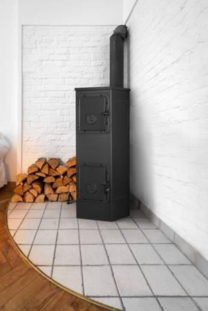TOPGAR Piec stalowo-żeliwny 6kW (średnica wylotu spalin: 120 mm) - spełnia anty-smogowy EkoProjekt 19877479