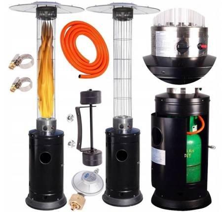 VIPGAR Parasol gazowy flame 14KW tarasowy promiennik 19577466