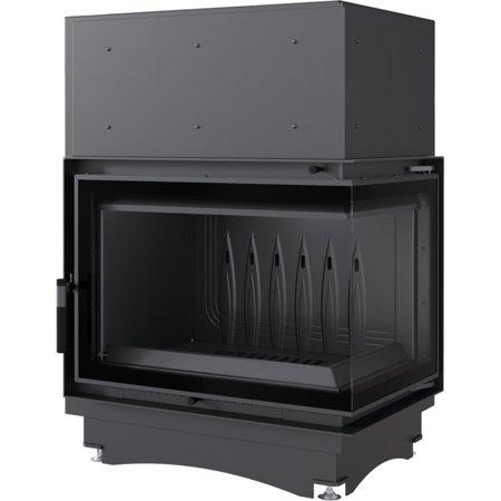 Wkład kominkowy 12kW Zuzia Eco BS Deco (prawa boczna szyba bez szprosa) - spełnia anty-smogowy EkoProjekt 30066812