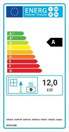 Wkład kominkowy 12kW Zuzia Eco (szyba prosta) - spełnia anty-smogowy EkoProjekt 30066810